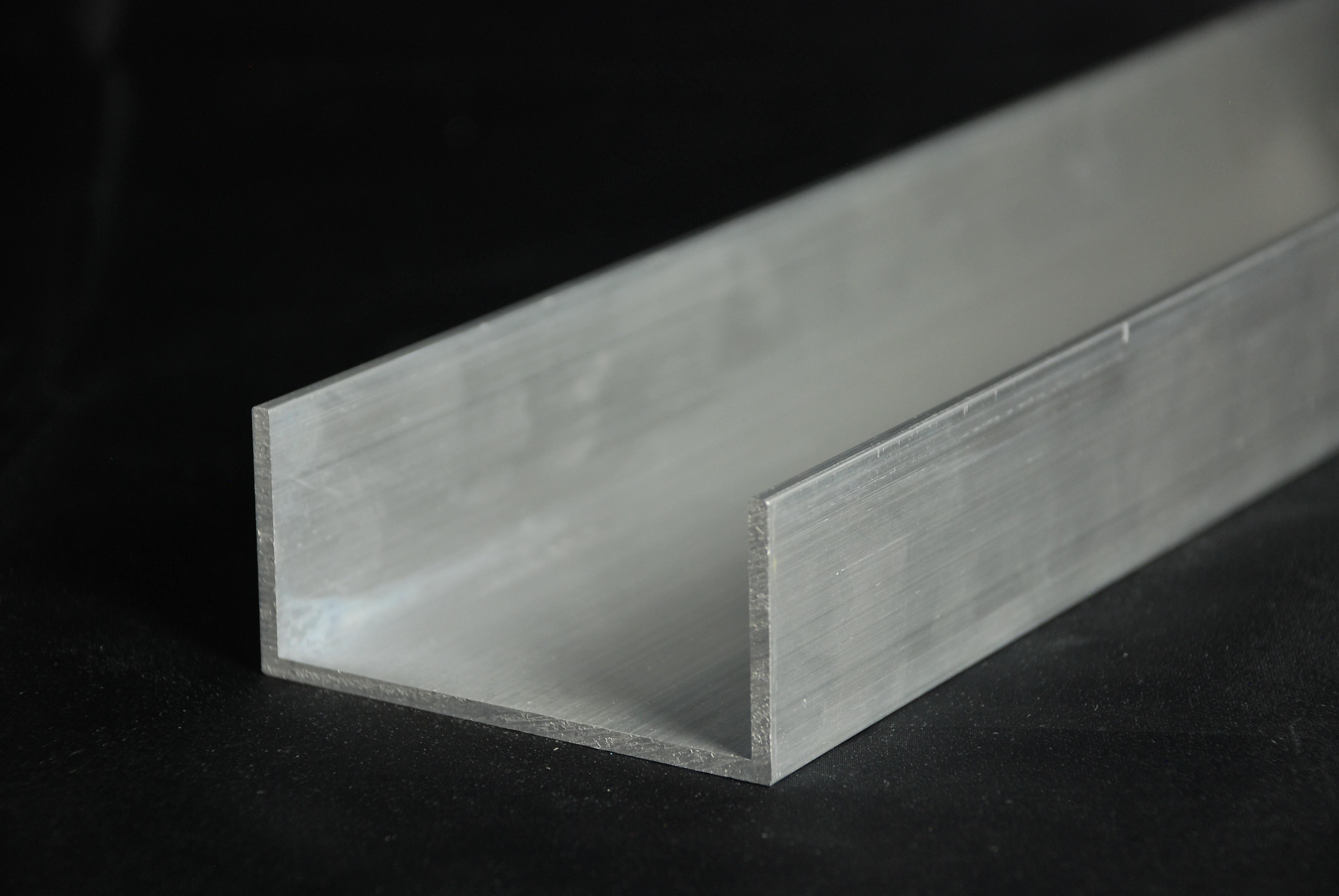 Sehr IBL Metallhandel & Logistik   Aluminium-U-Profil AlMgSi0,5 F22 IG93