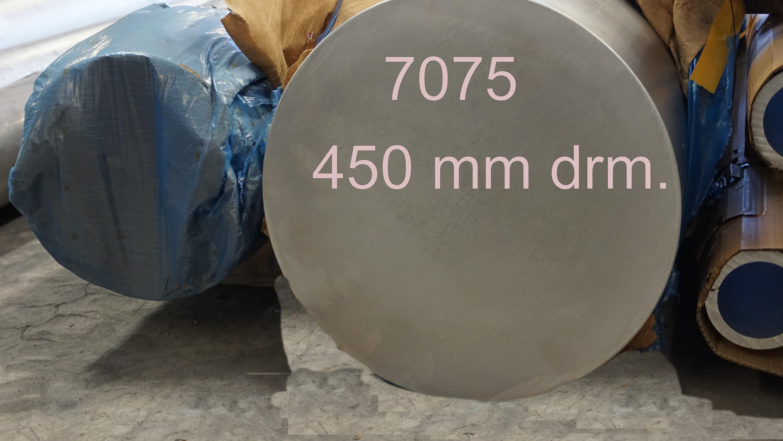 Aluminium Rundstangen Alu rund Durchmesser 60 mm 7075 T6 hochfest  Wunschlänge